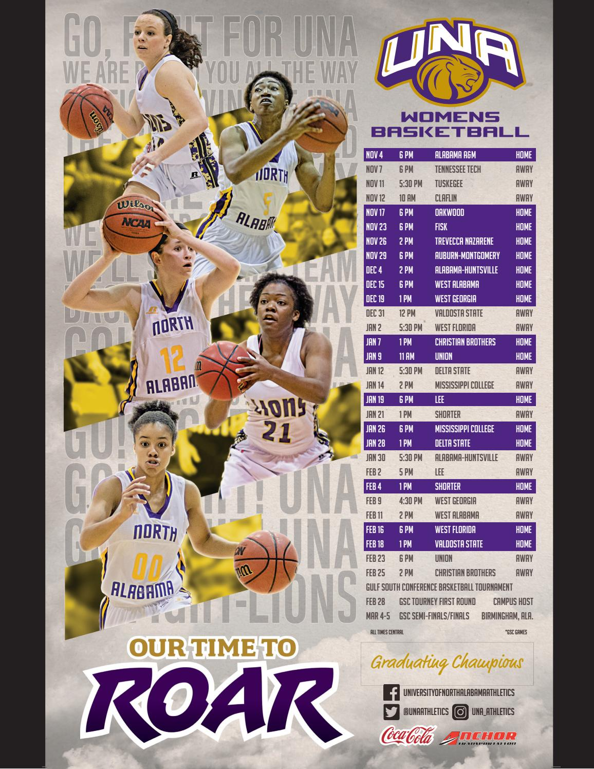 2016-17 UNA Women's Basketball Media Guide by University ...