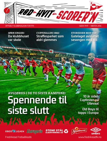3a433d7a Rød Hvit Scorer´n nr. 1-2016 by VB Media - issuu