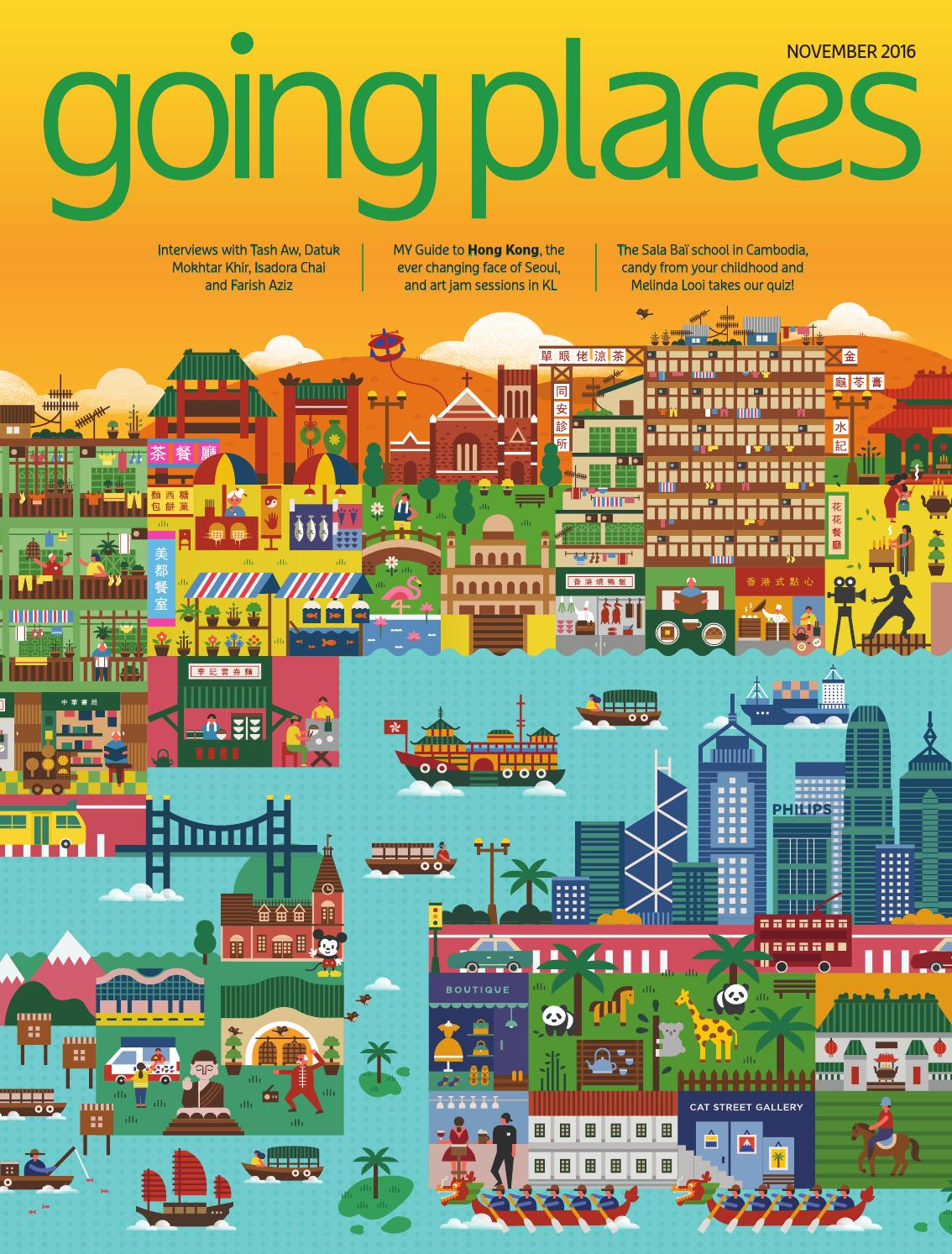 Going Places November 2016 By Spafax Malaysia Issuu