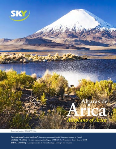 Nº33   SKY Agosto 2014 by Revista SKY Airline - issuu 183b6b99191