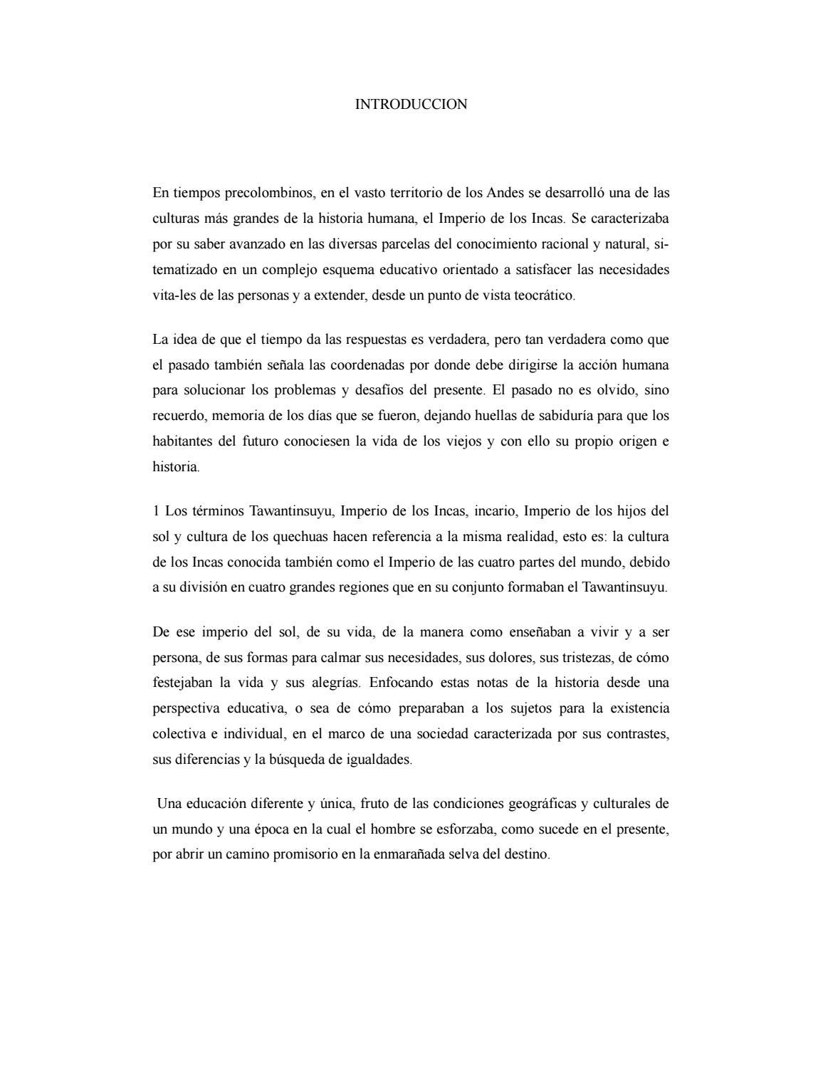Ensayo incas by Hazell Matarrita Salas - issuu