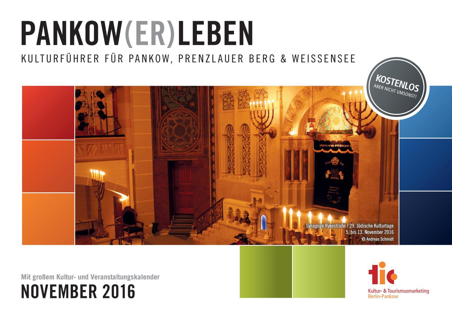 Kulturführer PANKOW(ER)LEBEN // November 2016 by IN TOUCH BERLIN ...