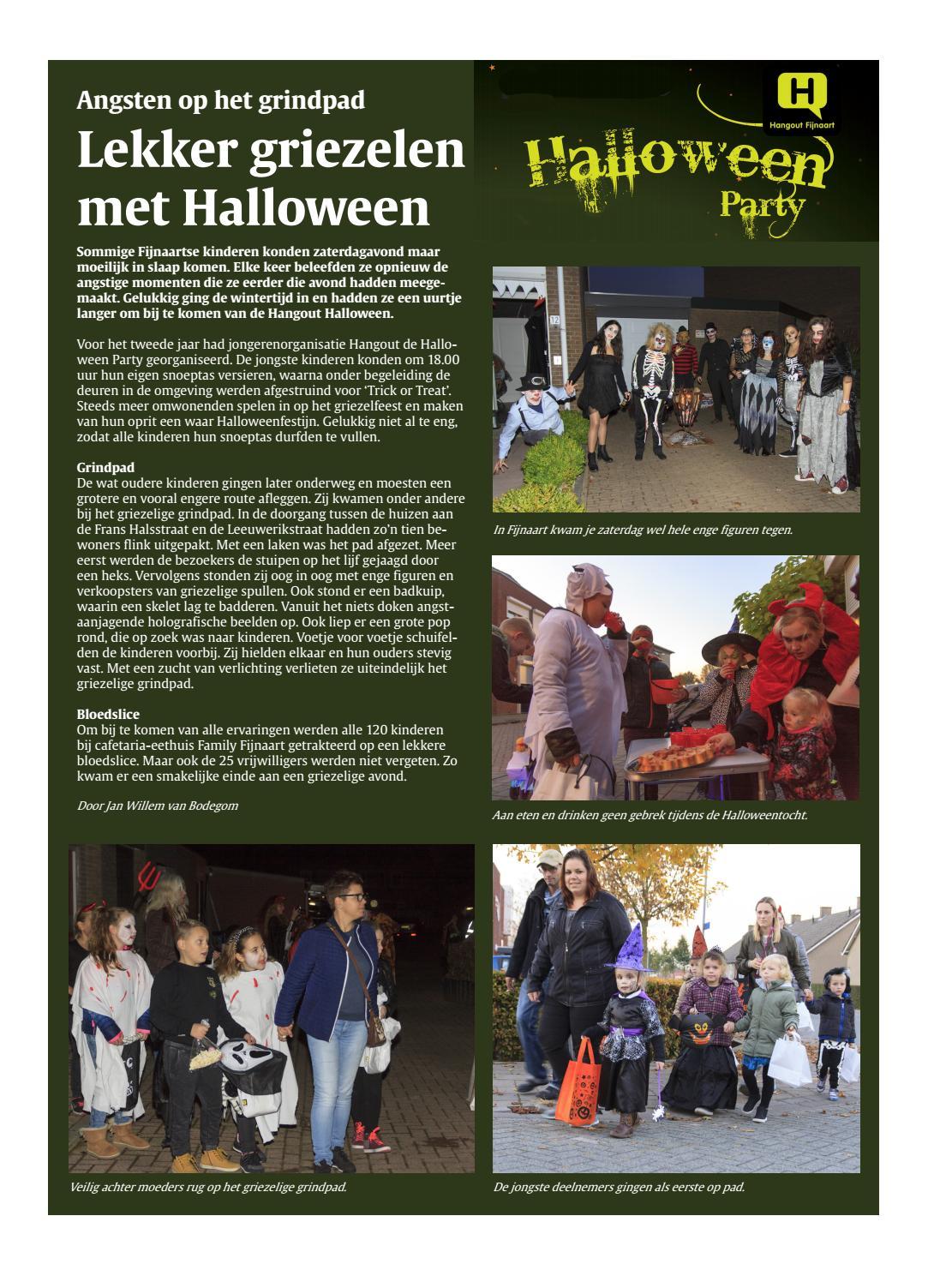 Halloween Eten Kinderen.Fendert Lokaal 2016 Week 44 By Fendert Lokaal Issuu