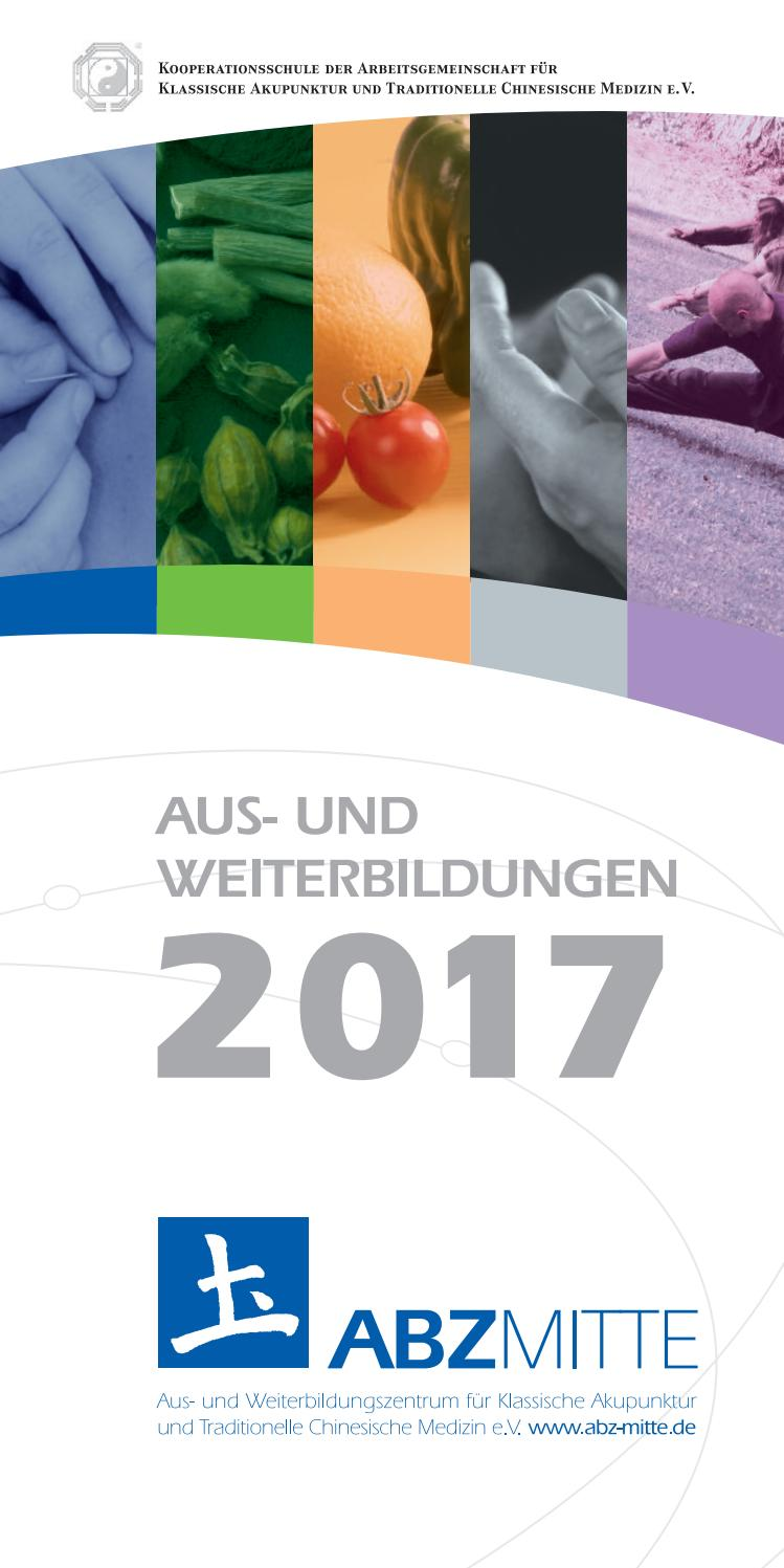 Abz Fortbildungsprogramm 2017 by Ausbildungszentrum Mitte für ...