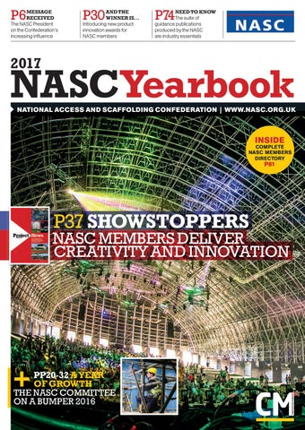 NASC Yearbook 2017 By Construction Manager