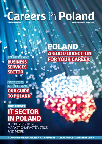 Careers in Poland 2016/17 by MBE group - issuu