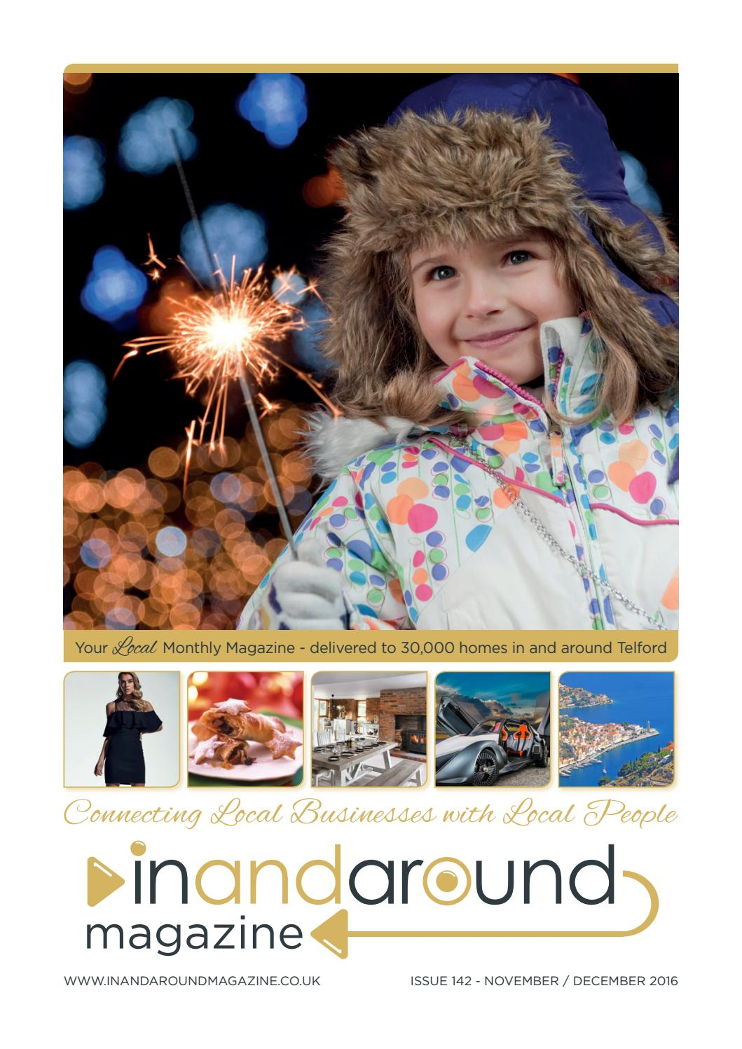 64d29c9444 I&a mag nov16 by In and Around Magazine - issuu