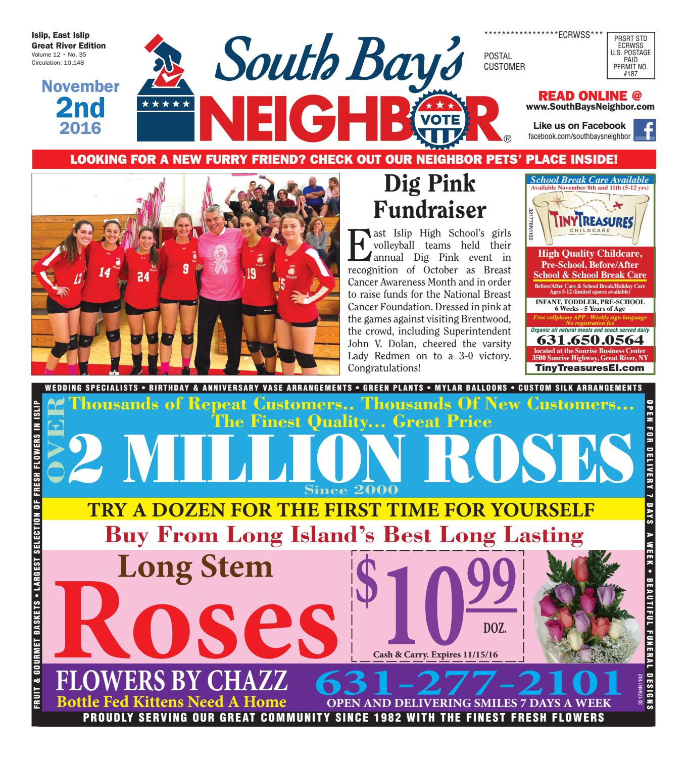 367dfb5fa1 November 2, 2016 Islip by South Bay's Neighbor Newspapers - issuu