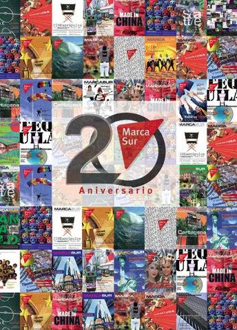 Marcasur Edición 20 Aniversario by Marcasur - issuu 4c1cfc00987