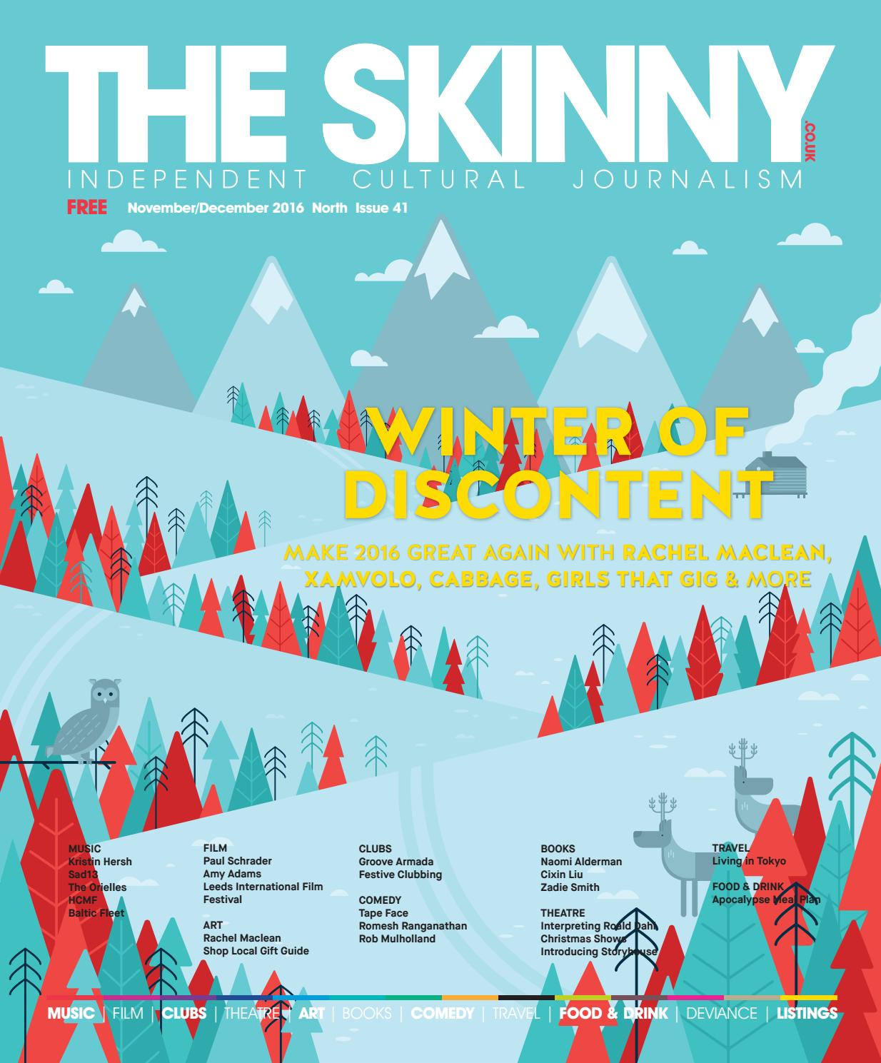 1e2fd73e102 The Skinny North Nov Dec 2016 by The Skinny - issuu