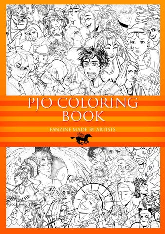 Pjo coloring book project - mobile version by Bruna Gonda - issuu