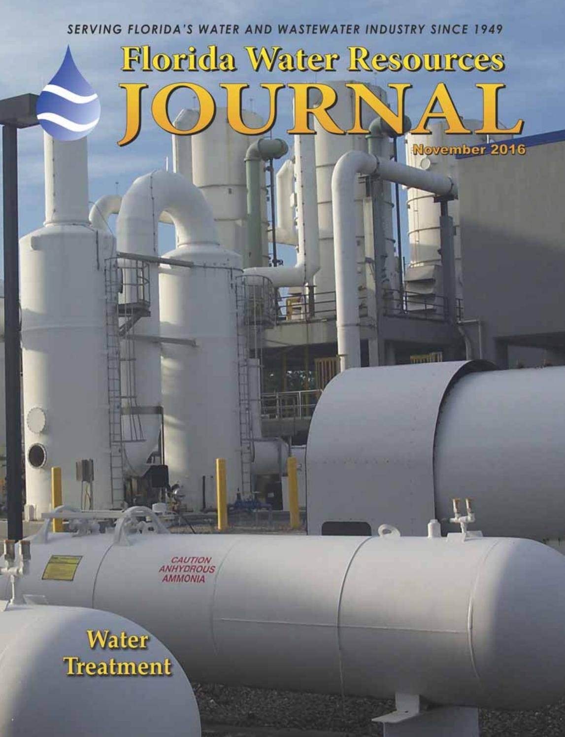 florida water resources journal november 2015 by florida water