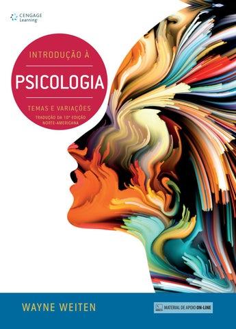 a6447a1b70 Livreto Introdução a Psicologia by Cengage Brasil - issuu
