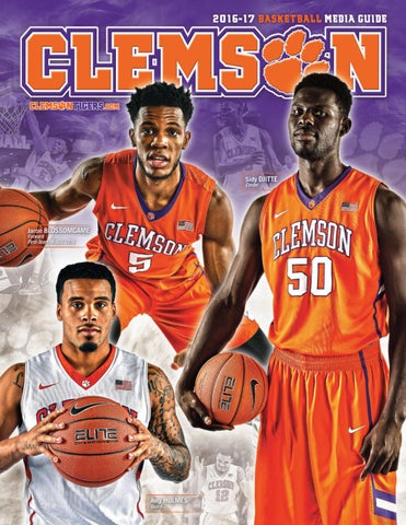 big sale 0953b 73fef 2016-17 Clemson Men s Basketball Media Guide by Clemson Tigers - issuu