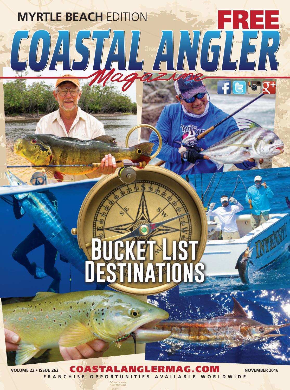 Coastal Angler Magazine-Nov. / Myrtle Beach By Coastal
