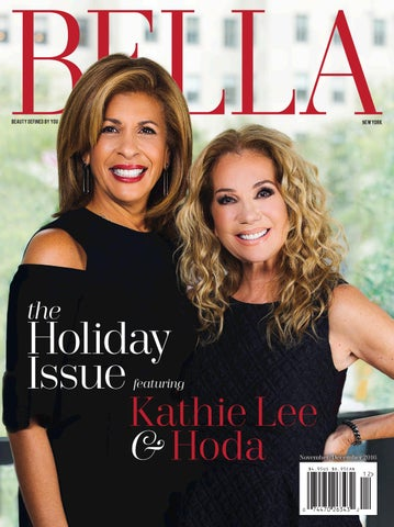 BELLA New York November December 2016 Featuring Kathie Lee And Hoda
