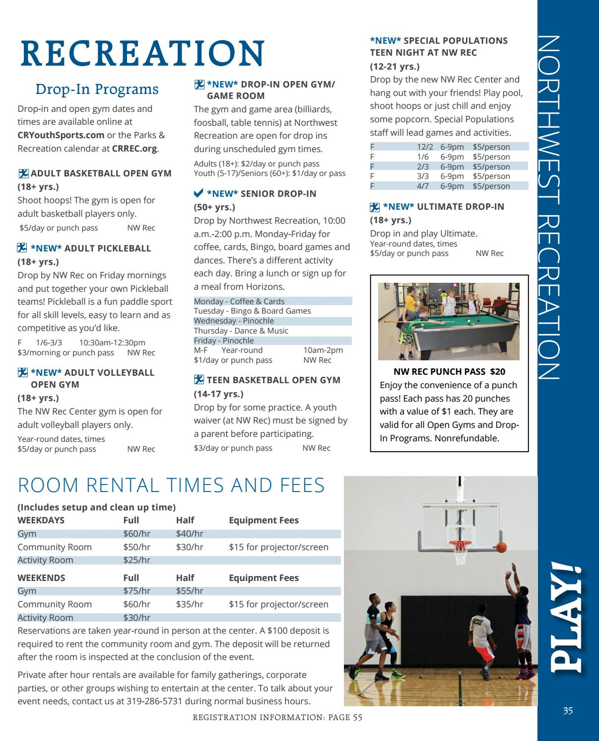 2017 Winter-Spring Play! Guide by City of Cedar Rapids - issuu