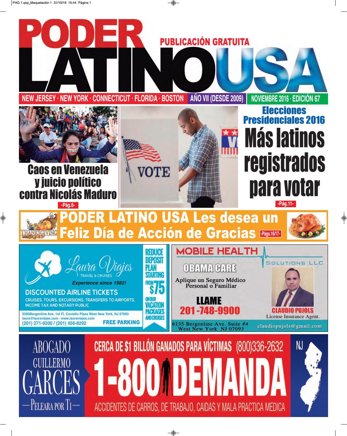 04d89f35638 Poder Latino usa Edicion  67 by NEGOCIOS HISPANOS USA MAGAZINE - issuu