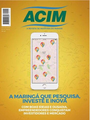 d4f7bc76b4 Revista ACIM - novembro 2016 by Associação Comercial e Empresarial ...