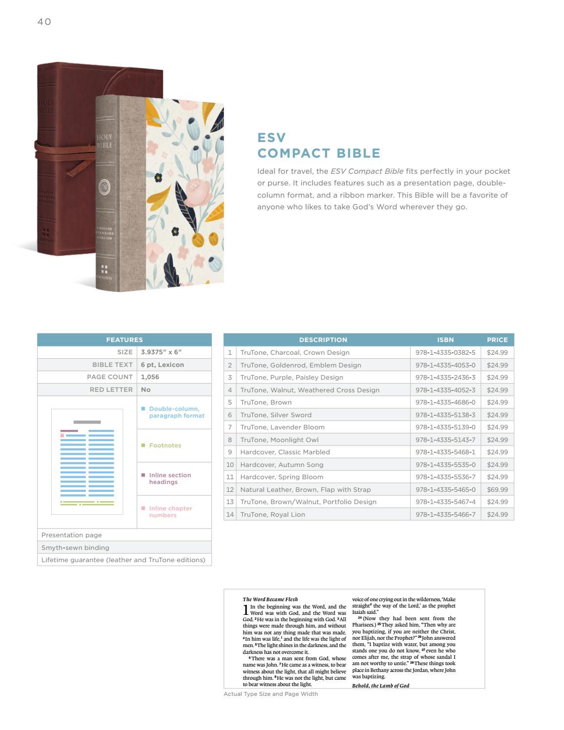Esv Spring 2017 Bible Catalog By Crossway Issuu