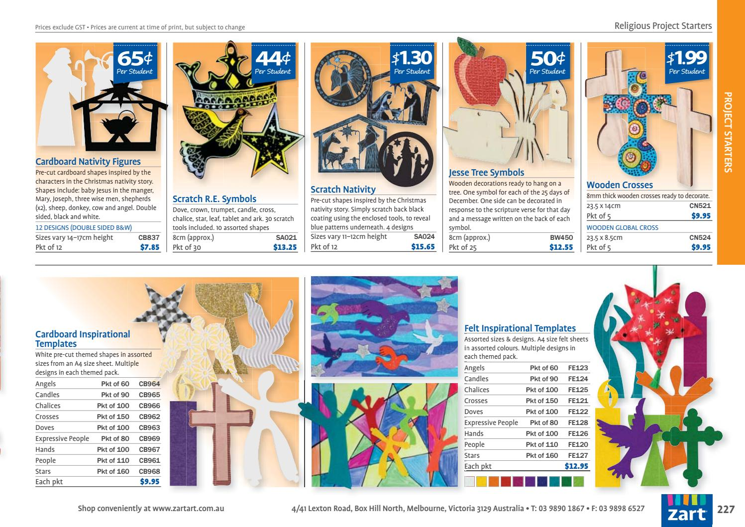Zart School Catalogue 2017 by Zart : Art, craft and education