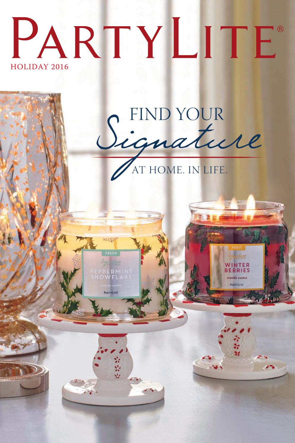 Holiday! Partylite Iced Snowberries Festive Fruits Jar Candle