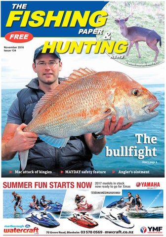66ad366e55 November 2016 - The Fishing Paper   Hunting News by The Fishing ...