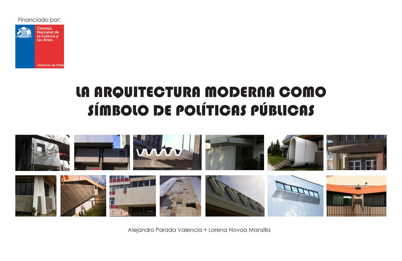 La Arquitectura Moderna Como S Mbolo De Pol Ticas Publicas By  # Gufanti Muebles