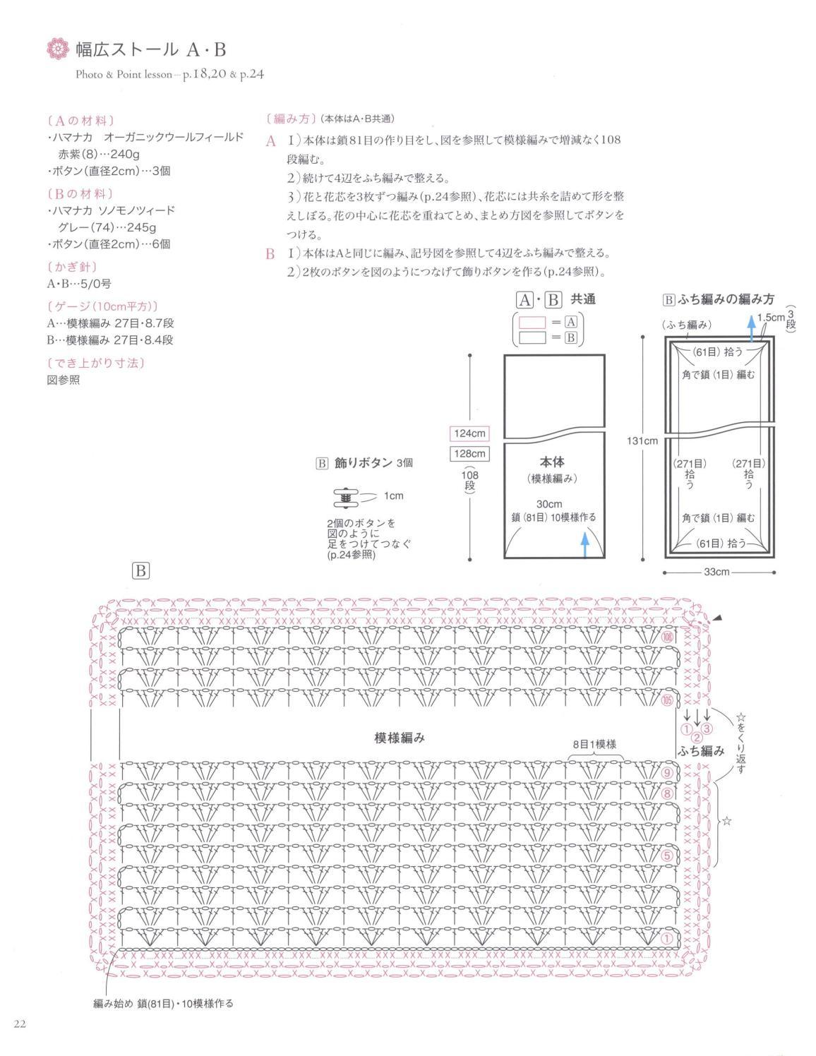 Asahi original crochet best selection 2012 page 22