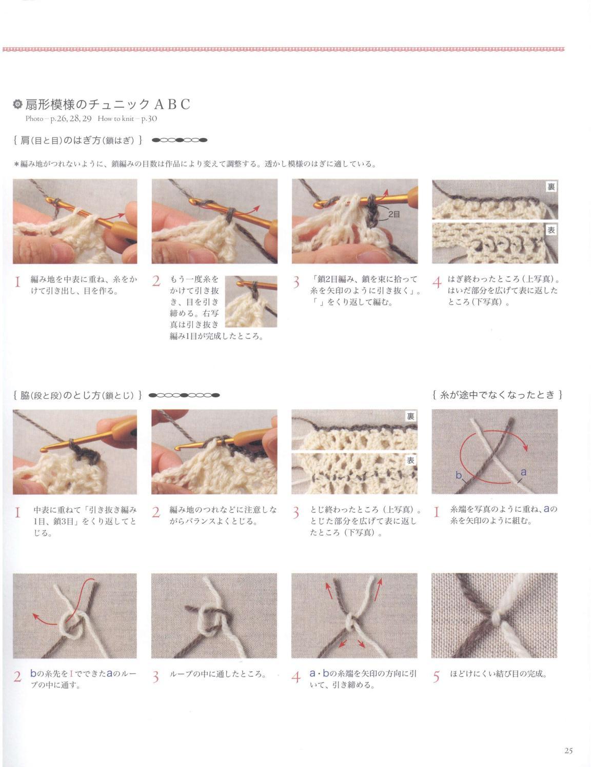 Asahi original crochet best selection 2012 page 25
