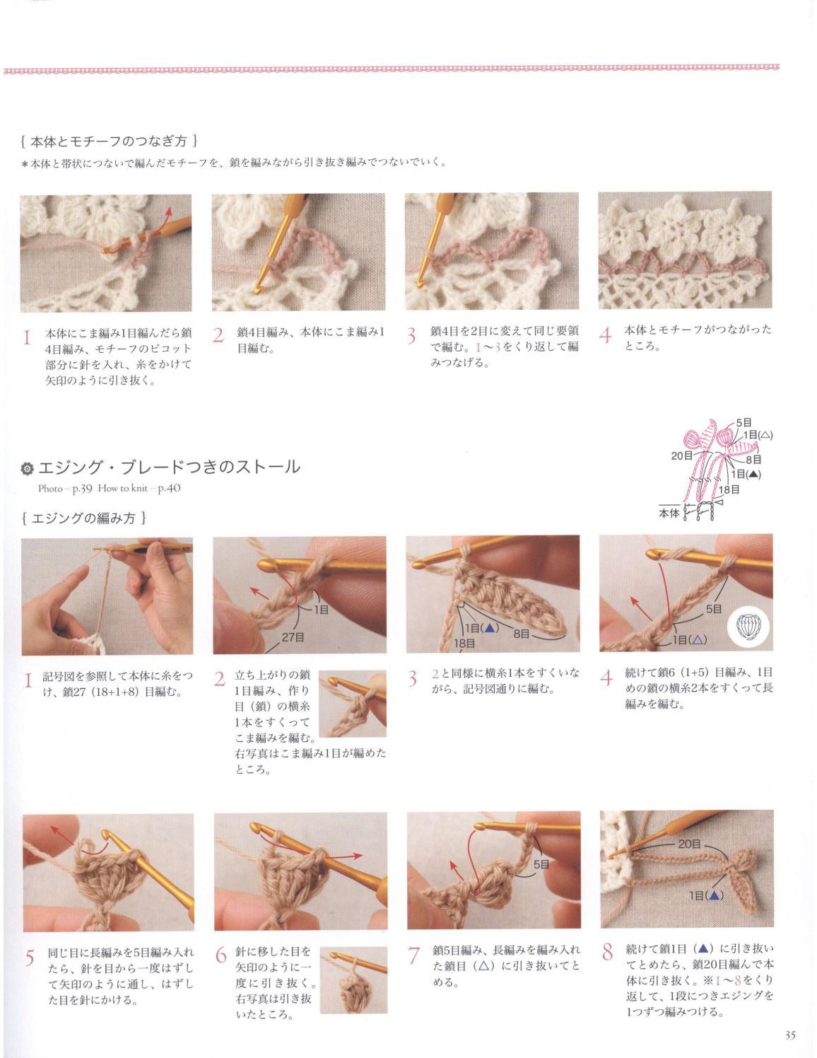 Asahi original crochet best selection 2012 page 35