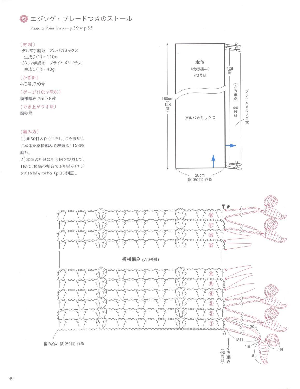 Asahi original crochet best selection 2012 page 40