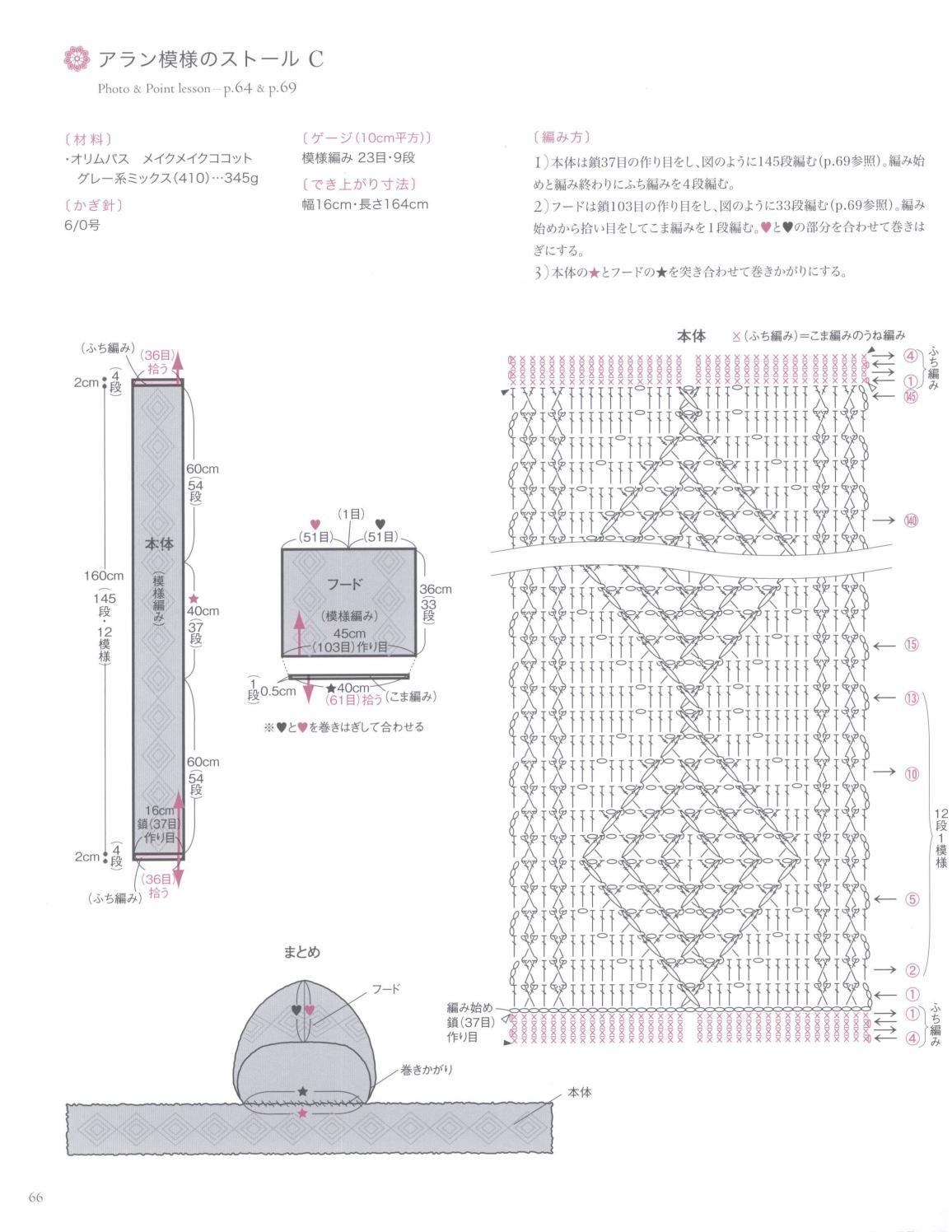 Asahi original crochet best selection 2012 page 66