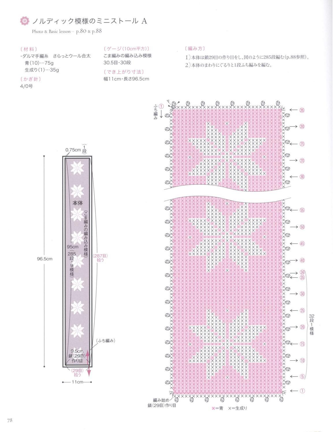 Asahi original crochet best selection 2012 page 78