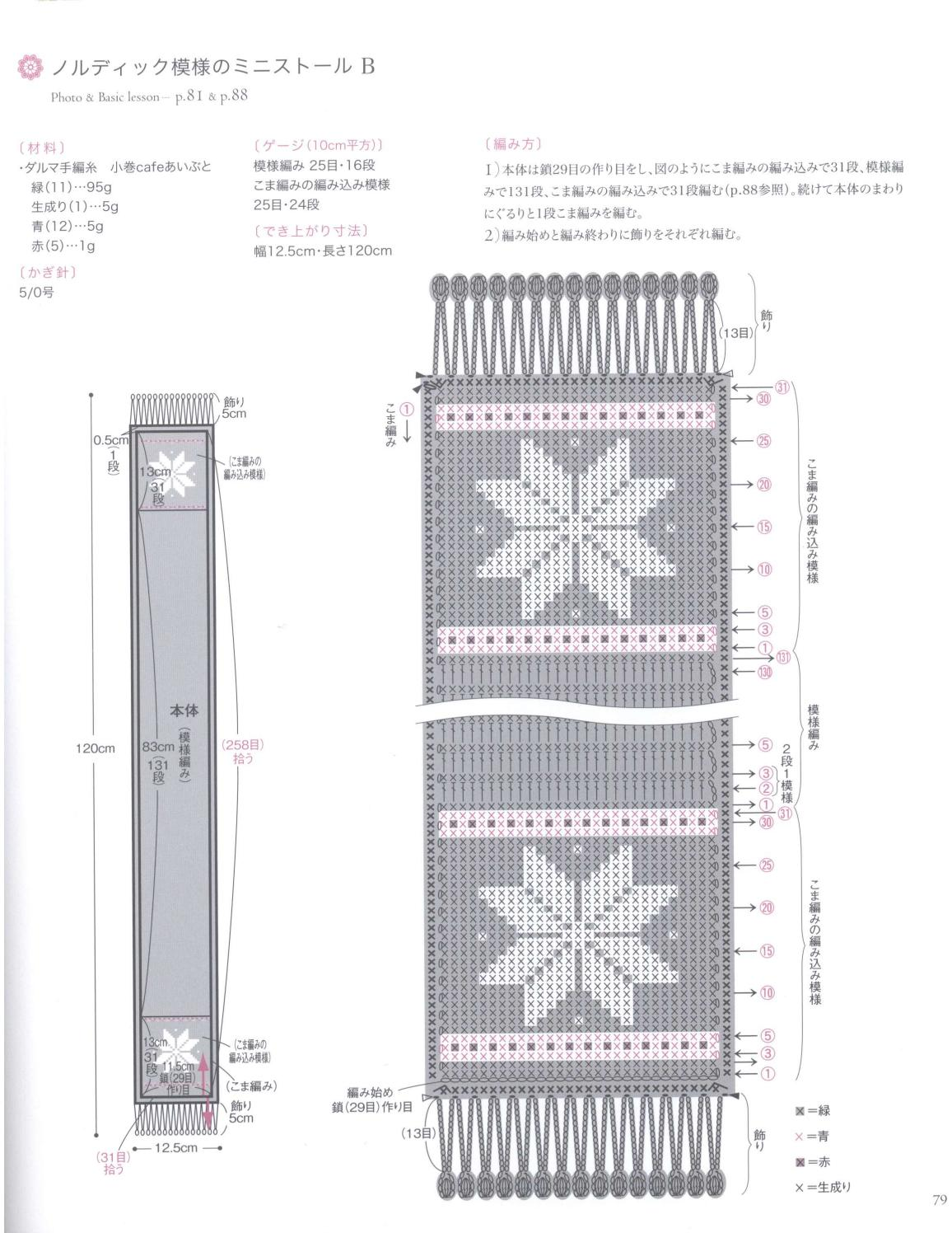 Asahi original crochet best selection 2012 page 79