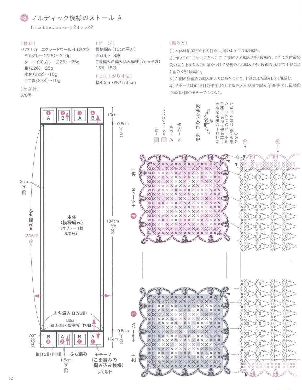 Asahi original crochet best selection 2012 page 82