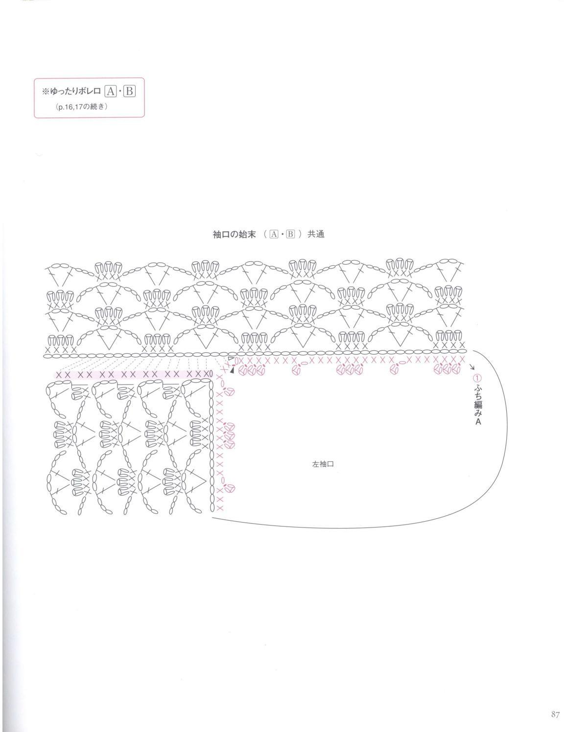 Asahi original crochet best selection 2012 page 87