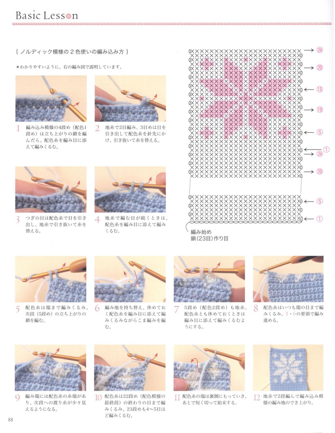 Asahi original crochet best selection 2012 page 88