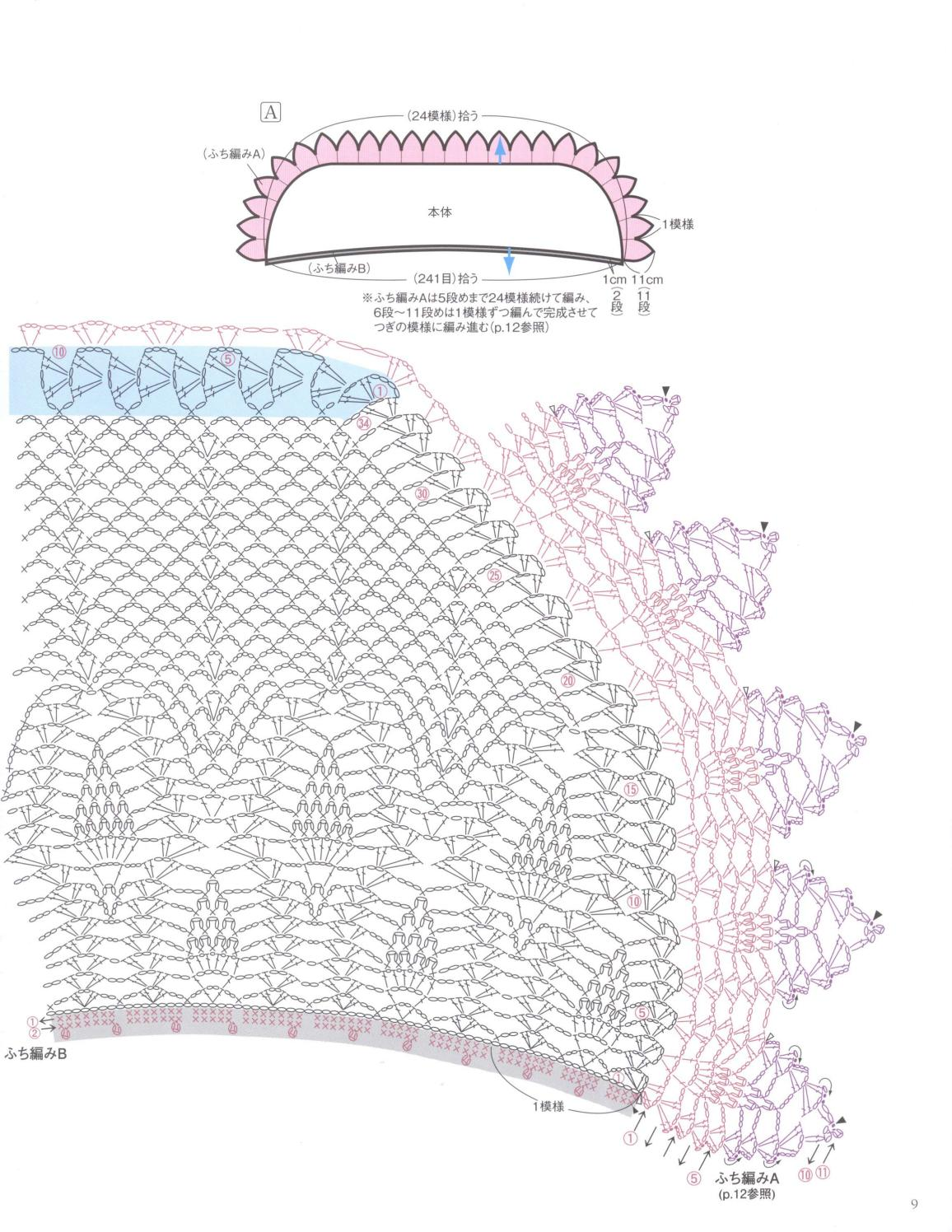 Asahi original crochet best selection 2012 page 9