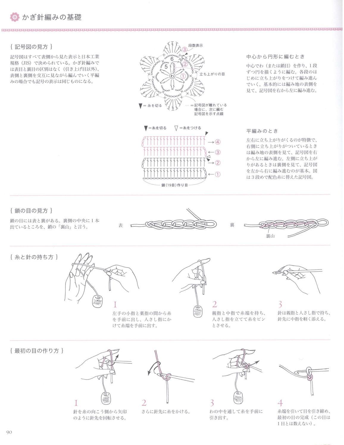 Asahi original crochet best selection 2012 page 90