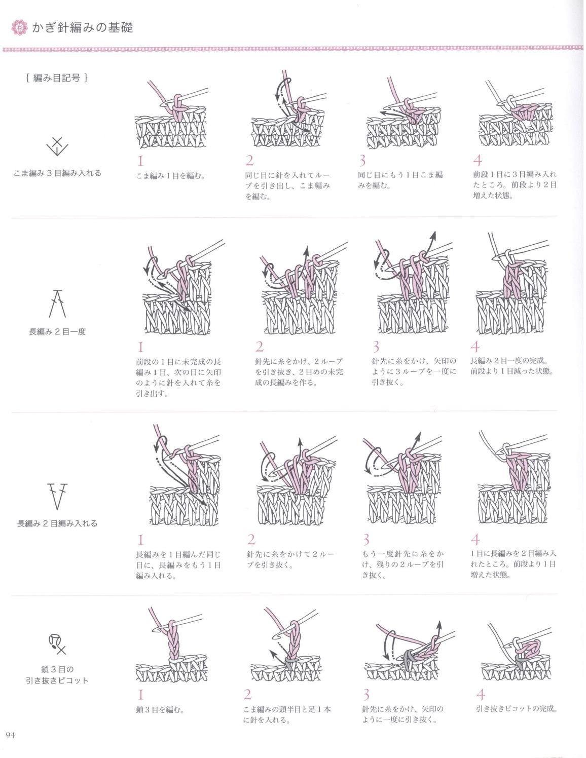 Asahi original crochet best selection 2012 page 94