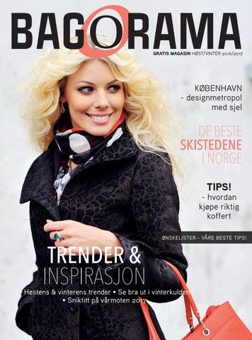 7b4e2c83 Bagorama-magasinet høst vinter 2016/2017 by Bagorama AS - issuu