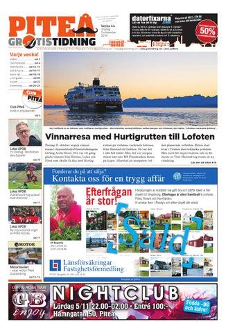 Piteå Gratistidning by Svenska Civildatalogerna AB - issuu 9a51f8d8bfb27