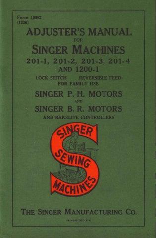 Singer 518 538 518K 538K Sewing Machine Service Repair Manual Faultfinding Chart