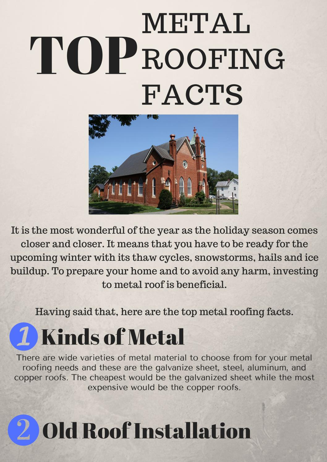 Know About Interesting Metal Roofing Facts By Alpha Rain