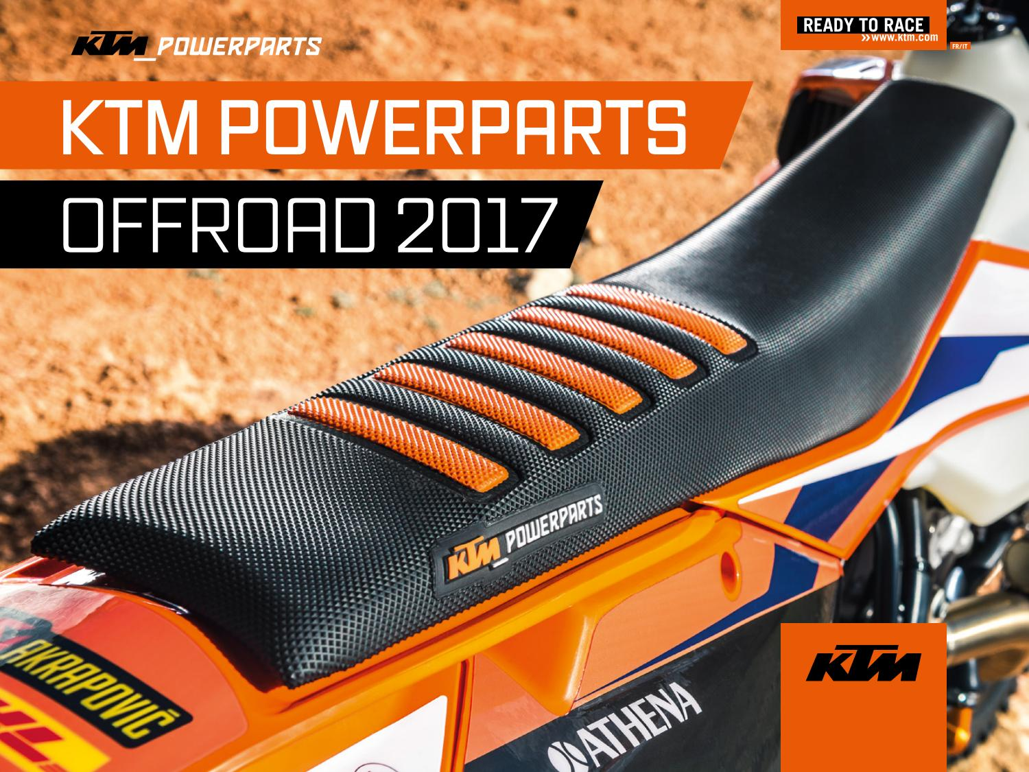 Ktm Powerparts Offroad 2017 Français Italiano By Ktm Group