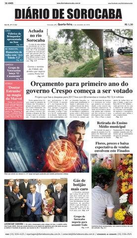 b89bfa85d8a9b Edição de 02 de novembro de 2016 by DIÁRIO DE SOROCABA - issuu