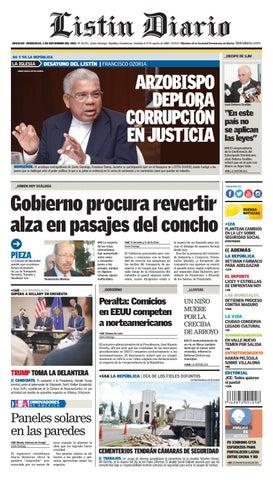 LD 02112016 by Listín Diario - issuu f73eb46b624