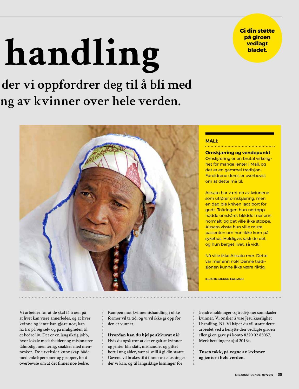 ed83b2e0 Misjonstidende 07/16 by Det Norske Misjonsselskap - issuu