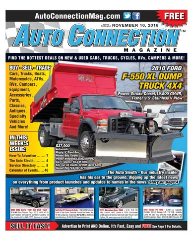 11-10-16 Auto Connection Magazine by Auto Connection